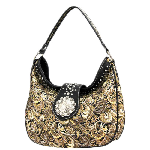 Buckle/Concho Collection Handbag
