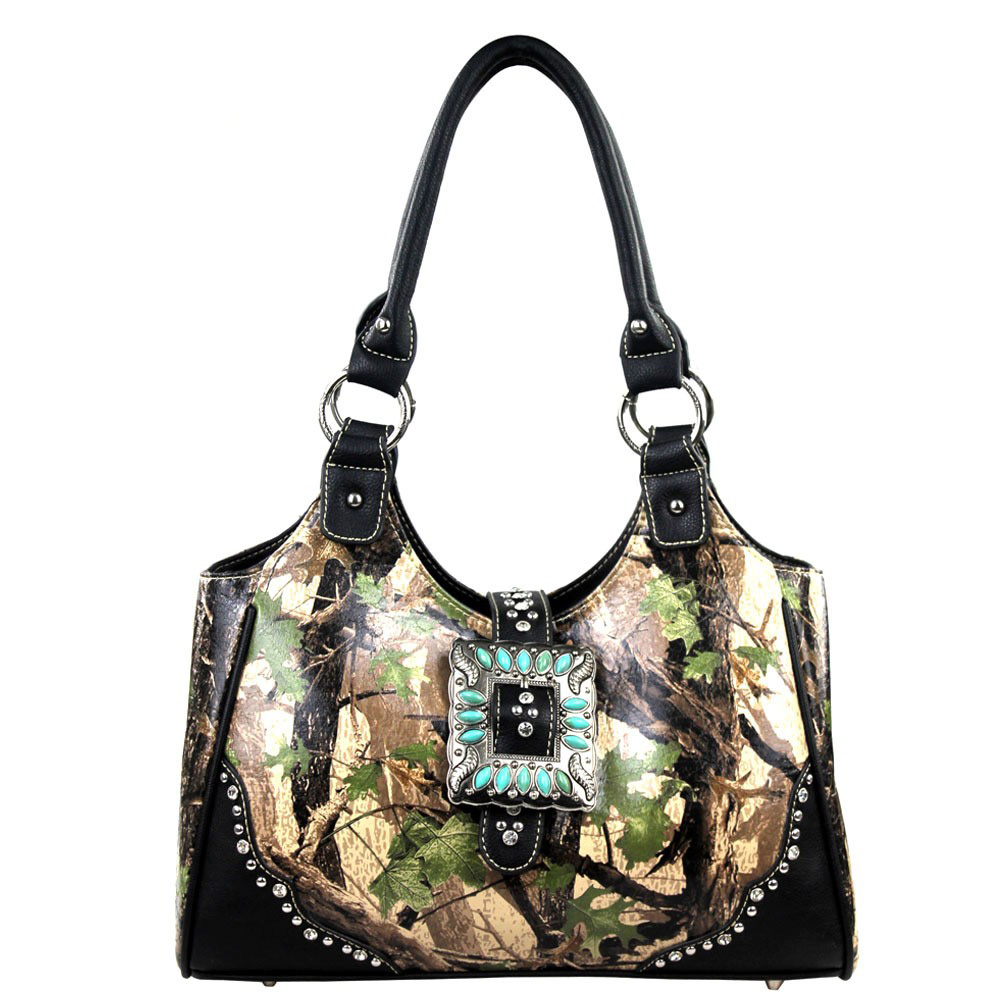Camouflage Concealed Handgun Collection Handbag