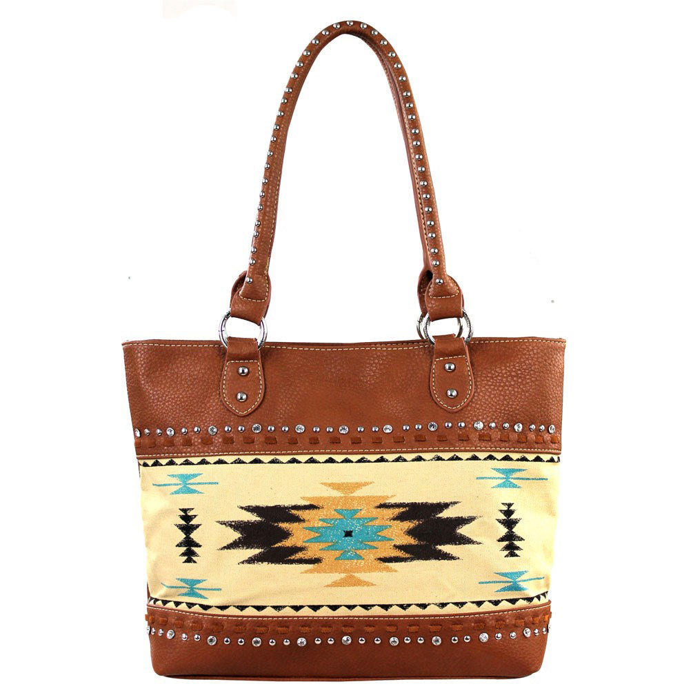 Aztec Concealed Handgun Collection Handbag