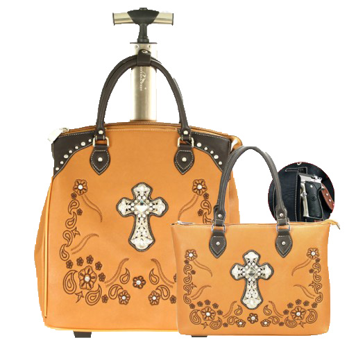 Spiritual Collection 2 Piece Luggage Set