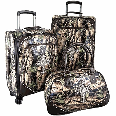 Camo Collection 3 Piece Luggage Set