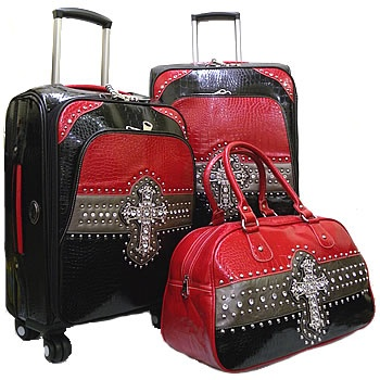 CrossRoads Collection 3 pc Luggage Set