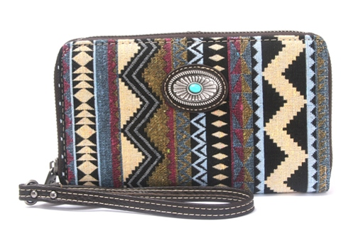 Western Aztec Collection Wallet