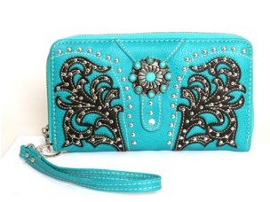 Western Concho Collection Wallet